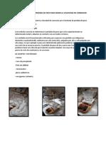 Metodo Gavimetrico Perdida de Peso Para Medir La Velocidad de Corrosion