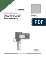 Manual Macromedidor DWM 2000L