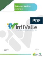 Infivalle-Programa Examenes Medicos Ocupacionales
