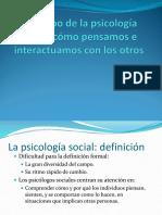 Psicologia Social Unidad I