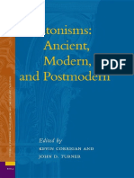 (Studies in Platonism, Neoplatonism, and the Platonic Tradition 4) Kevin Corrigan, John D. Turner - Platonisms_ Ancient, Modern, and Postmodern-BRILL (2007).pdf