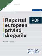 Raportul european privind drogurile