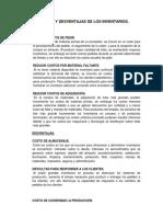 DESVENTAJAS DEL INVENTARIO Y VENTAJAS.pdf