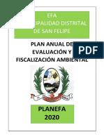 Planefa 2020 - Sgdea Mdsf