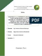Bases de la educación ambiental