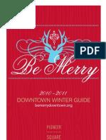 Downtown Winter Guide - Portland, Oregon - 2010