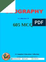 Geography MCQ