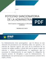 POTESTAD SANCIONADORA DE LA ADMINISTRACIÓN