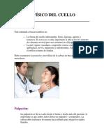 Examen Físico Del Cuello Oido Naris