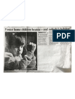 Foster Home Children Beaten_Feb. 4, 1990