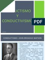 Conductismo y Conductivismo 1