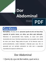 Dor Abdominal em Pediatria