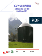 Valorisation biogaz 2017