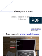 Como Descargar Mendeley