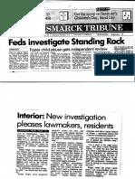Feds Investigate Standing Rock_May 11 1990_Bismarck Tribune