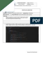 Práctica de laboratorio 03 -  Javascript