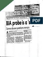 BIA Probe is a Start_April 3 1990_Bismarck Tribune