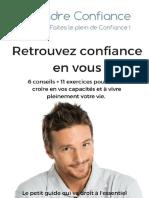 Prendreconfiance.com Retrouver Confiance en Vous..V2
