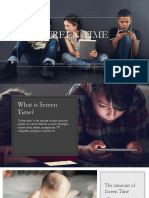 screen time research presentations