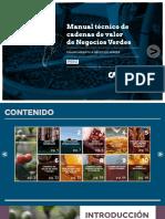 Manual Técnico de Cadenas de Valor de Negocios Verdes - PERU