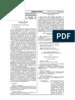 Reglamento de Radioaficionados DS 024-2019-MTC