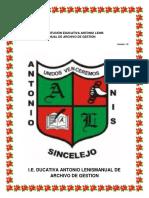 Manual de Archivo de instituciones colombianas