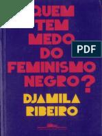 Quem Tem Medo Do Feminismo Negro - Djamila Ribeiro