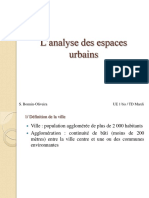 Vocabulaire Description Espaces Urbains Bonnin