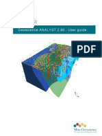 Geoscience ANALYST User Guide