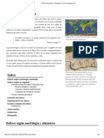 Relieve Terrestre - Wikipedia, La Enciclopedia Libre