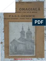 Carte Omagiala Cu Ocazia Aniversarii a Cinci Ani de Pastorie a p.s.d.d. Gherontie, 1931-Watermark
