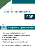Module 6 Risk Management