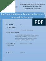 Monografía Kant y Socrates