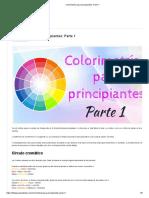 Colorimetría Para Principiantes_ Parte 1