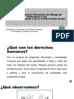 Prevención y Resolución de Conflictos Sociales Con Enfoque en Derechos Humanos