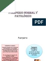 CUADRO COMPARATIVO Puerperio Normal y Patologico LISTAS