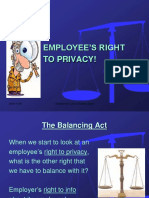 Module 9 PPT - Workplace Privacy