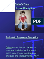 Module 7 PPT - Workplace Rights & Discipline
