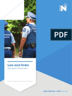 Law and Order Discussion Document