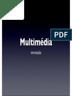 Introdução à Multimédia