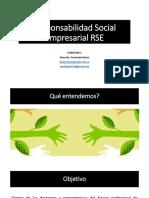 Responsabilidad Social Empresarial RSE - Presentación Del Sílabo