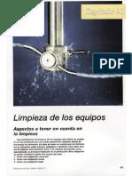 Manual de Industrias Lacteas Capitulo 21 LIMPIEZA de LOS EQUIPOS