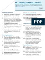arts faculty digital learning guidelines checklist 2019  1