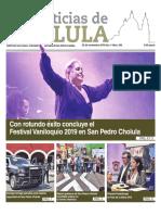 Noticias Cholula 25 de noviembre