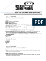 Apps para ser asistente virtual