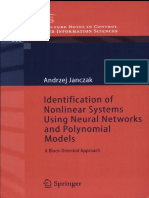 (Lecture Notes in Control and Information Sciences) Andrzej Janczak - Identification of Nonlinear Systems Using Neural Networks and Polynomial Models_ a Block-Oriented Approach-Springer (2004)