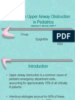 Acute Upper Airway Obstruction_Pediatrics