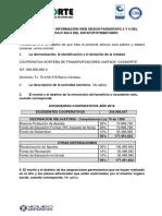 Informacion de La Empresa de Coonorte