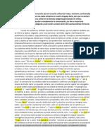 Inglés - Las categorías gramaticales - Redactado a Ensayo