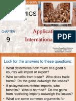 Application International Trade